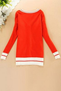 Ivy League Crested Knit Cardigan Sweater