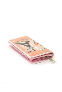 Paris Graphic Bi-fold Wallet