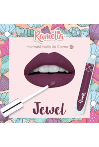 Mermaid Matte Lip Crème in Jewel