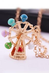 La Grande Roue Ferris Wheel Pendant Necklace