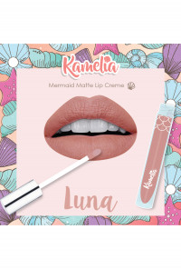Mermaid Matte Lip Crème in Luna