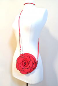 Beauty and the Beast Rose Purse