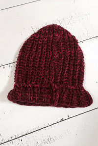 Warm Bodies Chunky Heathered Knit Beanie