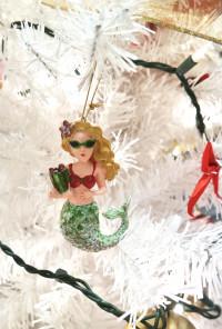 Mermaid Holiday Ornament