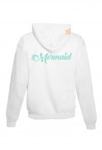mermaid hoodie back