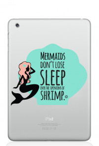 mermaid iPad mini decal