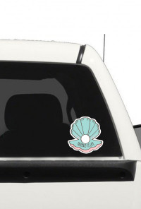 mermaid is life decal