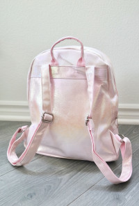 mermaid mini backpack light pink
