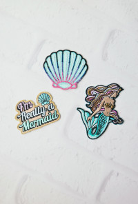Sun Kissed Mermaid Iron-On Patch