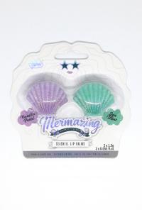 Lip Balms - Mermaid Shimmer Seashell Lip Balm Duo