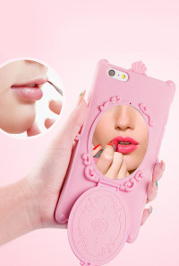iPhone Case - Magic Mirror iPhone 6 Case in Pink