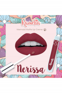 Mermaid Matte Lip Crème in Nerissa