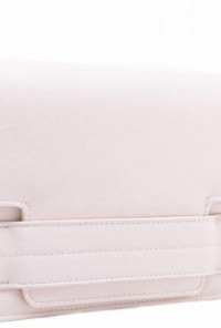 Clutch - Philanthropist Charm Tab Envelope Beige Clutch