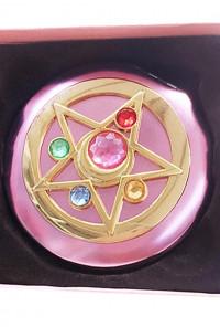Moon Magic Transformation Crystal Star Compact Mirror