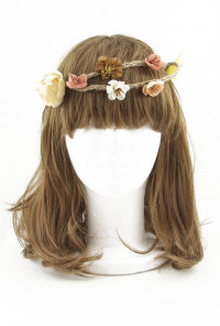 Boho Twine Flower Crown