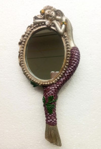 Mermaid Hand Mirror