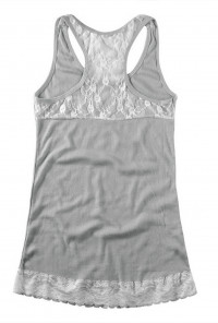 Lace Embroidered Tank Top
