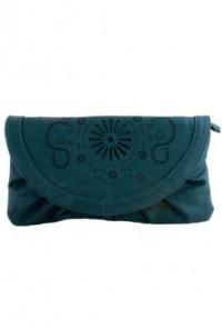 Clutch - Tuscany Sunrise Multi-Wear Purse Teal Clutch