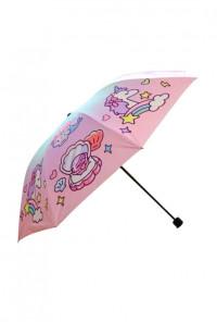 Kawaii Mermaid Unicorn umbrella