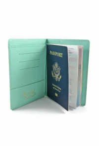 mermaid passport holder