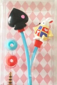 White Rabbit earphones