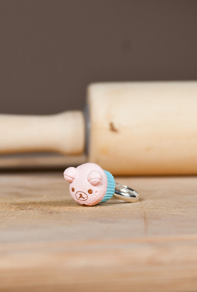 Rings - Bakery #5 Limited edition Korilakkuma Muffin Charm Ring
