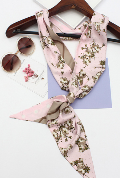 Scarf - Soft Blooms Cherry Blossom Scarf in Pink