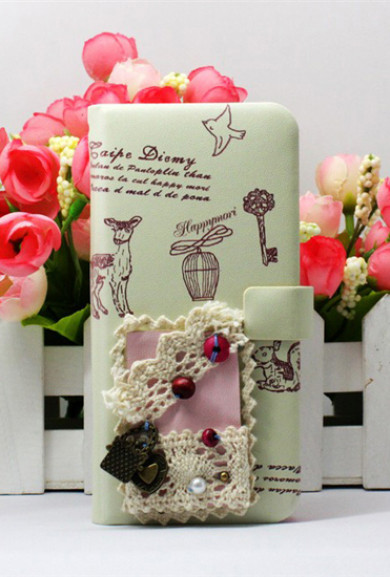 iPhone Case - Eclectic Artistry iPhone 5 Case in Lace Notes