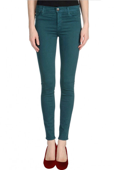Skinny Jeans - Hipster Vibe Low Rise Teal Skinny Jeans