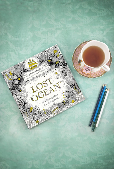 Books - Lost Ocean Adult Coloring Book