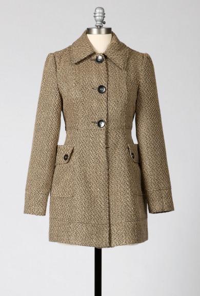 Coat - Words of Comfort Oversize Pockets Coat in Khaki