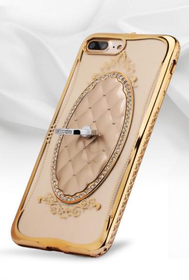 iPhone Case - Modern Princess iPhone 7 Case in Gold