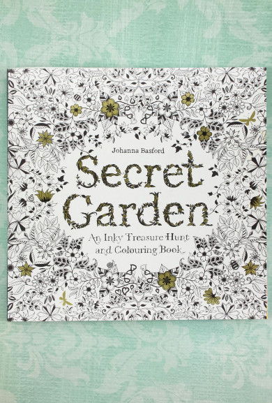 Books - Secret Garden Adult Coloring Book