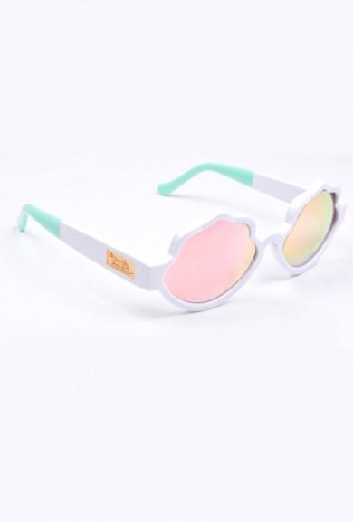 Eyewear - See Shells Seashell Frame Sunglasses in White