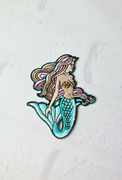 Patches - Sun Kissed Mermaid Iron-On Patch
