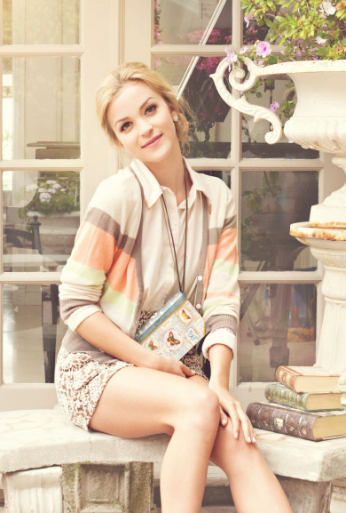 Cardigan - Tropical Breeze Colorful Stripe Cardigan