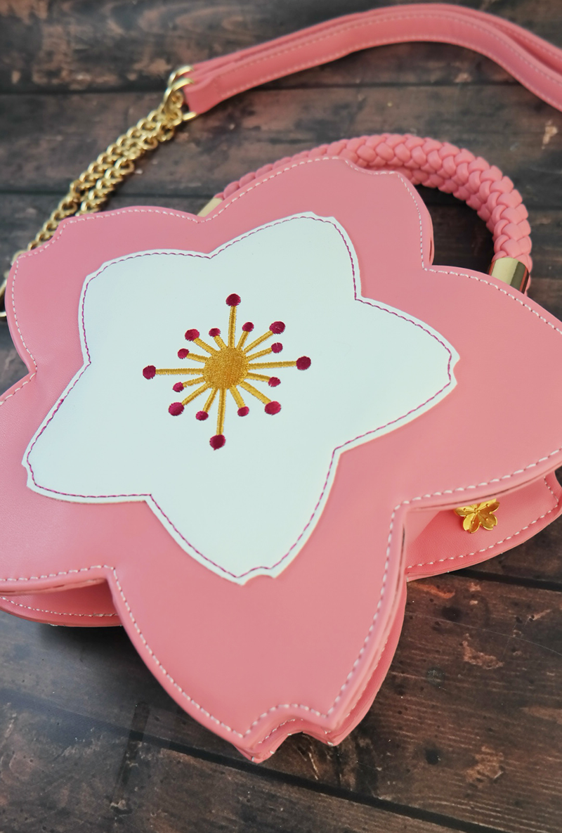 hanami cherry blossom purse sincerely sweet boutique