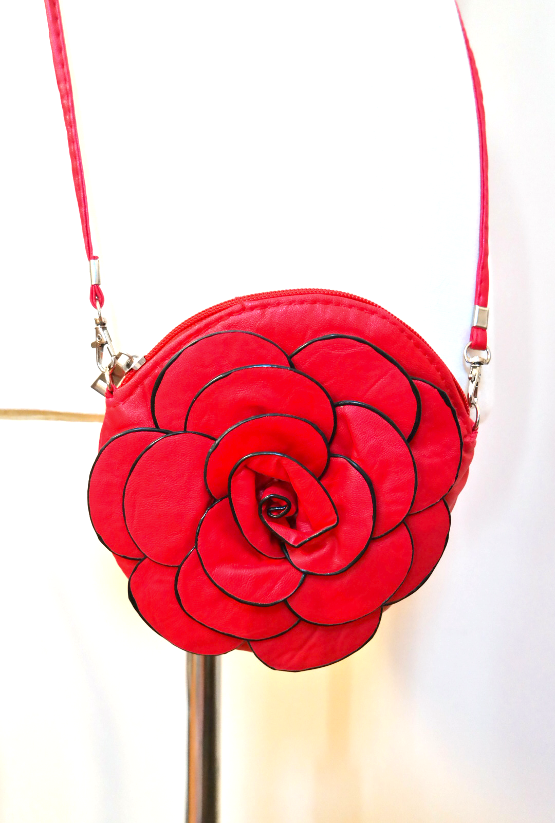 Purse Magic Rose Crossbody Clutch Sincerely Sweet Boutique