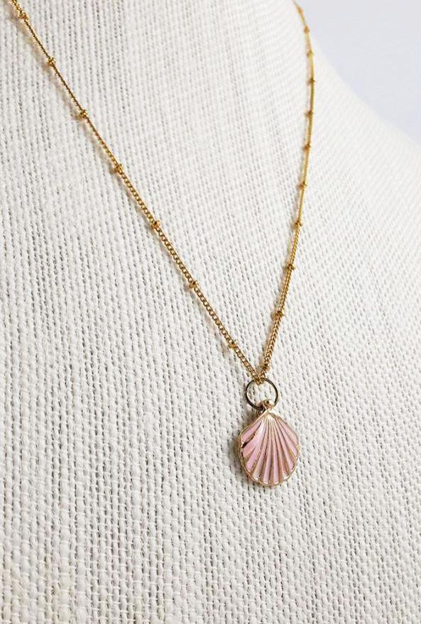 Necklace mermaid charm seashell pendant necklace sincerely sweet mermaid charm seashell pendant necklace mermaid charm seashell pendant necklace aloadofball Gallery