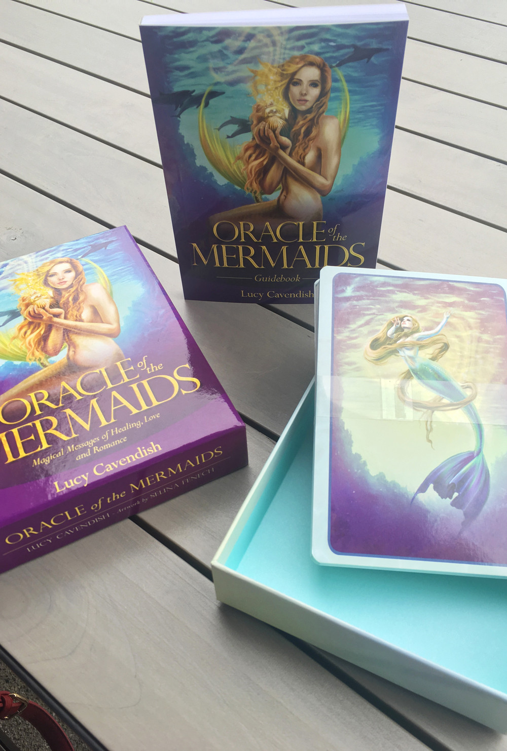Oracle Of The Mermaids Tarot Cards And Instruction