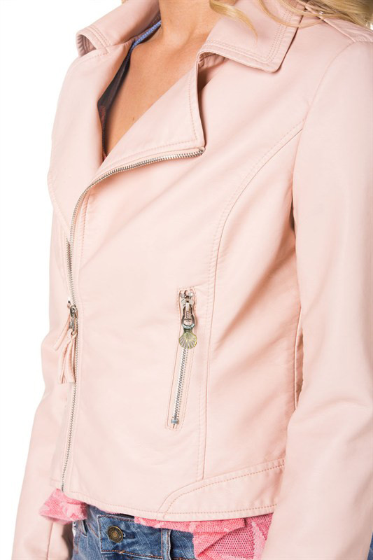 Jackets - Quirky Mermaid Moto Jacket in Pink   Sincerely Sweet ...