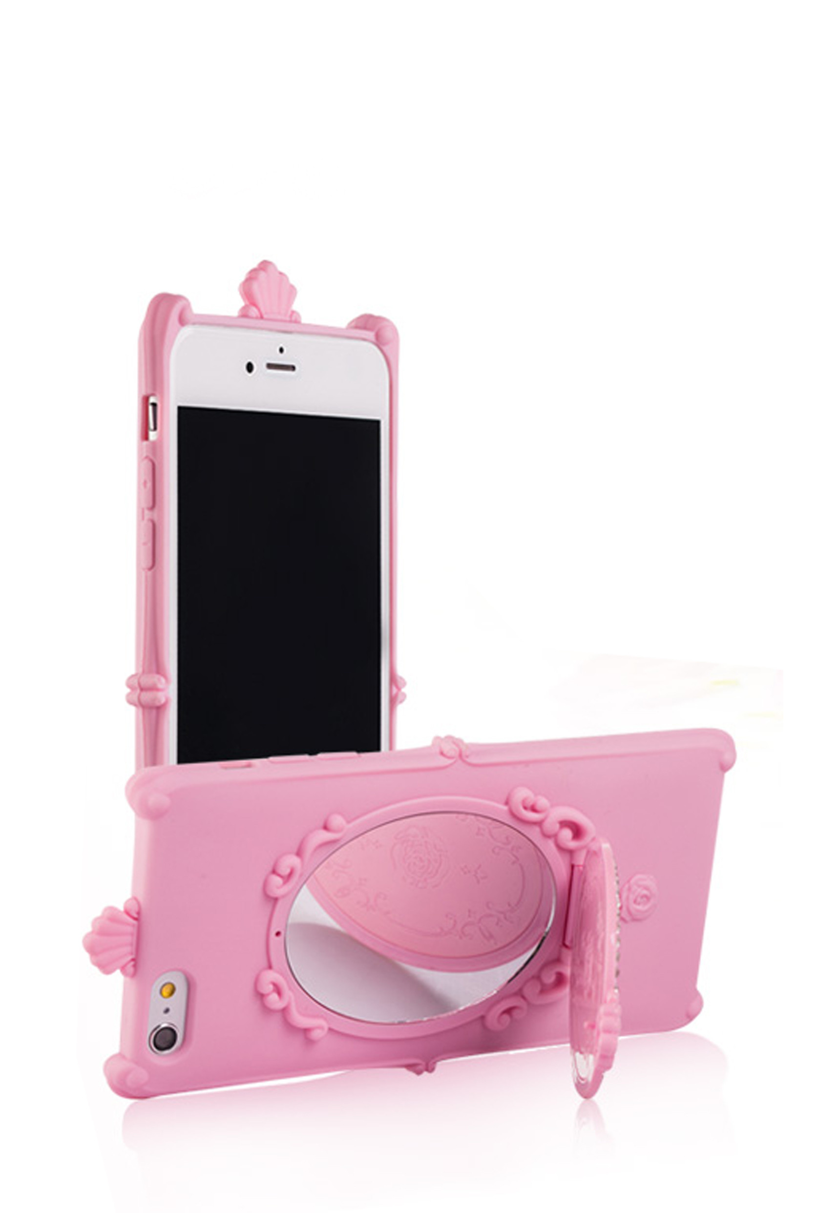 mirror iphone case iphone magic mirror iphone 6 in pink 3118