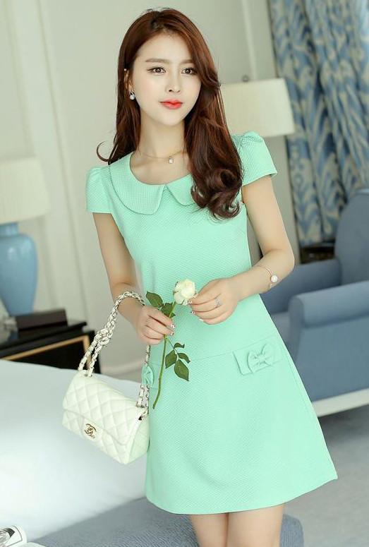 Green Office Dress