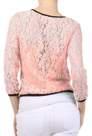 Cardigan - Sweet Impressions Lace Embroidered Cardigan