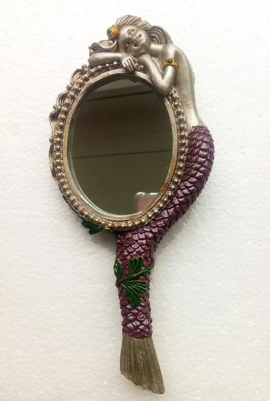 Beauty Temptress Reflection Mermaid Hand Mirror