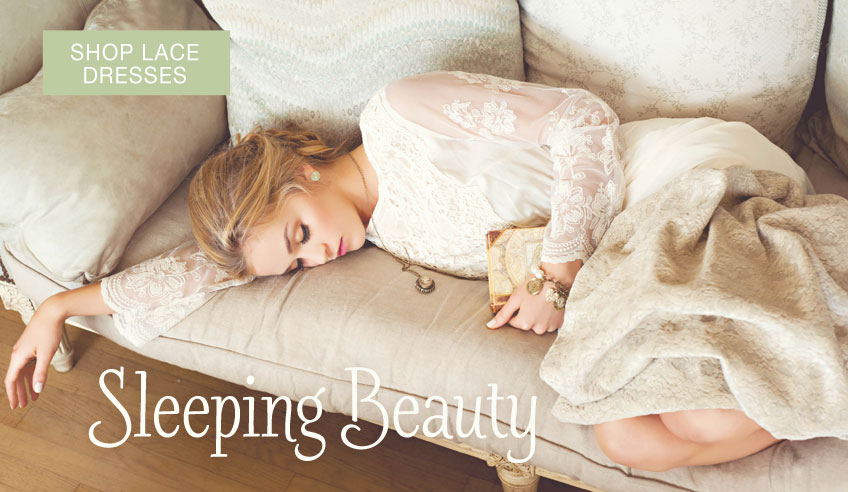 Sleeping Beauty Lace Dresses