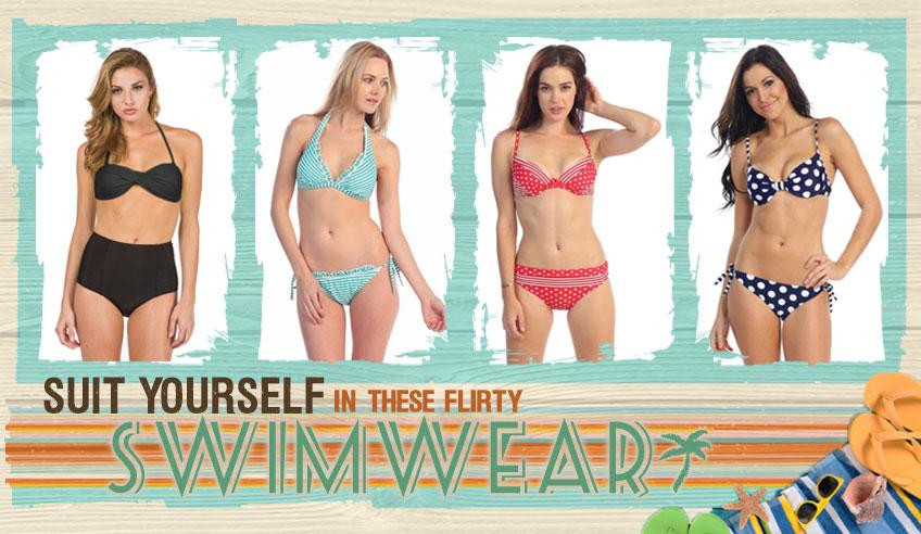 Shop Flirty Swimsuits